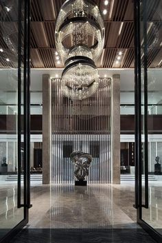 Join us and get inspired by the best selection of hotel reception and lobby lighting inspirations for your home decor project - What kind of piece do you need? Big? Small? Find them all at  luxxu.net