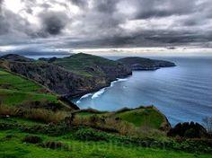 RIBEIRA GRANDE (Açores - Portugal): Miradouro de Santa Iria.