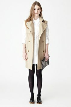 Steven Alan  Don't miss Steven Alan's final winter sale — steep discounts on dresses, shoes, bags, and this cool sleeveless trench.  Steven Alan Inga Sleeveless Trench, $262 (originally $375), available at Steven Alan.