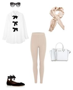 """""""#12"""" by janema on Polyvore featuring mode, See by Chloé, adidas Originals, Tabitha Simmons, MICHAEL Michael Kors, Louis Vuitton, Alexander McQueen, look, ootd et women"""