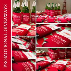 Koozies are a perfect promotional giveaway - see how to set up a simple, unique koozie giveaway! http://totallypromotional.wordpress.com/2013/08/13/koozies-are-perfect-promotional-giveaways/