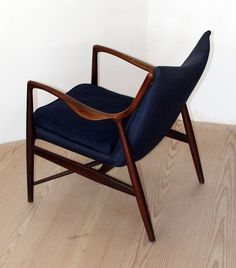 Finn Juhl Nv45 Chair Made and Labeled by Niels Vodder, circa 1945-1955 6