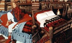 Ralph Lauren Home 1983 = Dream Christmas morning situation