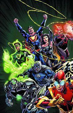 Justice League #24 (Combo Pack) (Virgin Cover) #JusticeLeague #New52 #DC (Cover Artist: Ivan Reis & Joe Prado) On Sale: 10/23/2013