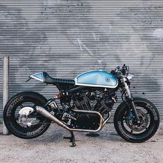 Virago cafe racer by Sweet Torque Garage                                                                                                                                                                                 More