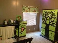 Love the painting on the big dresser!