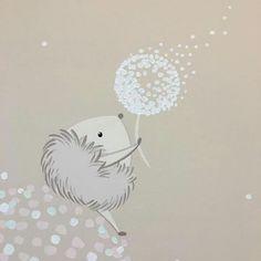 Murales bellisimos para niños Baby Painting, Painting For Kids, Owl Illustration, Tatty Teddy, Baby Art, Cute Creatures, Baby Prints, Baby Decor, Nursery Art