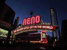 Most Famous City Welcome Signs: Reno Arch, Reno, Nevada
