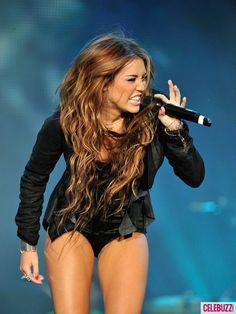 I have always loved Miley's hair. So long and pretty.