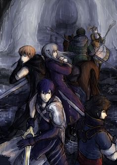 Chapter 10 - Fire Emblem: Awakening by Oviot.deviantart.com. Amazing! This catches the mood perfectly!