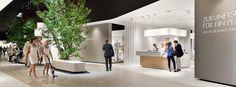 brandarchitecture / Electrolux / IFA 2013 Exhibition Stand Design, Room, Furniture, Home Decor, Bedroom, Decoration Home, Exhibition Stall Design, Room Decor, Rooms