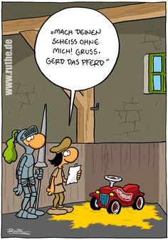 Cartoon Sehr lustiger #Cartoon von Ralph #Ruthe.de #hwg