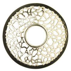 Yankee Candle  Illuma Lid Matrix Brushed Silver