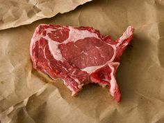 Amurica. I like my steaks bloody and my martini's filthy.