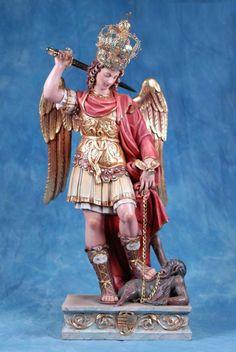 Archangel Michael, St Michael, Ferdinand, Monster, Saints, Princess Zelda, Wonder Woman, Christian, Statue