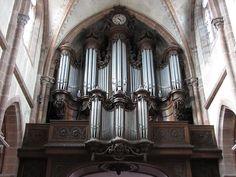 Neuwiller-lès-Saverne, Eglise abbatiale Saints-Pierre et Paul, Orgue de Nicolas Dupont (1772-1778)