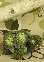 Free pattern on Ravelry!!!  The turtle's shell is removable, too! Ravelry: Turtle Toy pattern by Kj Hay