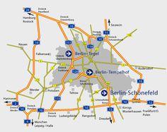 Información Turística de Berlín - Berlín Tegel Airport