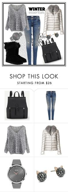 """Untitled #1"" by selmarr ❤ liked on Polyvore featuring Herno, BOSS Black, Karl Lagerfeld and UGG"