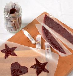 Rhubarb Berry Fruit Leather - Vegan