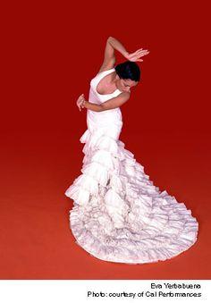 Eva la Yerbabuena - the first professional Flamenco dancer I ever saw perform