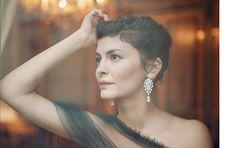 Audrey Tautou by Joe McGorty for Glass Magazine