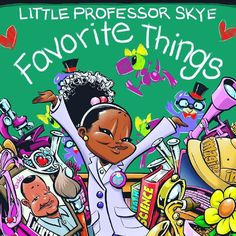 """RepostBy @littleprofessorskye: """"Introducing """"Little Professor Skye - Favorite Things""""  This book inspires children to imagine their infinite possibilities. Reading encourages new ideas and creativity. Allow Little Professor Skye to guide your child's journey into a world of learning love family and friends!  Purchase your copy today! #LittleProfessorSkye""""  @rollingout"""