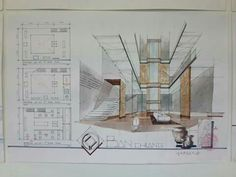 Interior Rendering, Interior Design, Layout, Sketch Design, Planer, Art Gallery, Perspective, Projects, Architecture