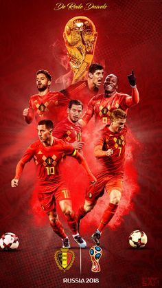Come on you Reds! Football Ads, Football Is Life, Sport Football, World Cup Russia 2018, World Cup 2018, Fifa World Cup, Belgium National Football Team, Cr7 Messi, Neymar Jr Wallpapers