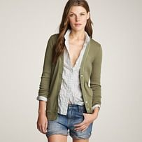 cardigan with a button-up