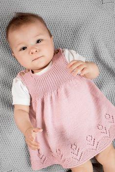 Ladies Cardigan Knitting Patterns, Baby Sweater Knitting Pattern, Knitted Baby Cardigan, Knitted Baby Clothes, Baby Knitting Patterns, Girls Knitted Dress, Knit Baby Dress, Baby Clothes Patterns, Baby Sweaters