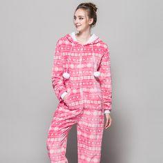 Zipper Pyjama Christmas Women Snow Pink Pajamas Onesie For Teenagers Lady  Adults Selling Best Pijamas In 133ab36ac