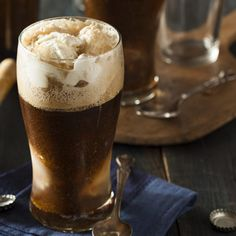 Among the favorite ice cream soda drinks served at the old-fashioned soda fountain is the Black Cow. Learn how to make one as well as the White and Brown Cows. #chocolatedrinks #drinkrecipes #easydiysodadrinks