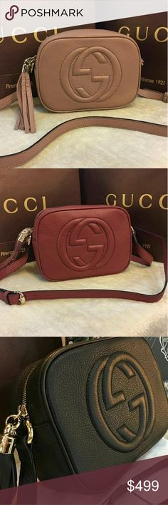 GUCCI SOHO CROSSBODY BAG BRAND NEW AVAILABLE IN MANY COLORS Bags Crossbody Bags