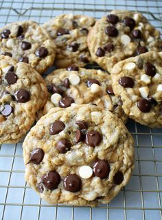 I Want to Marry You Cookies by Modern Honey. The original recipe for the famous saucepan cookie. Chocolate Chip Cookie with rich, toffee flavor studded with white chocolate chips, chocolate chips, and a touch of oatmeal. The most popular recipe on Cooking Channel in 2012. www.modernhoney.com