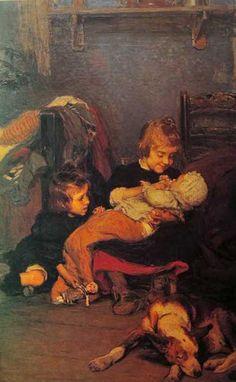 Gonzalo Bilbao (1860-1938) La madrecita (1899)