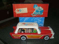 Fisher Price Little People Woody Station Wagon. (Going for a lot on Ebay!)