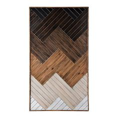 This Ombre Wooden Planks Wall Plaque will make an impressive addition to your wall decor. Wooden Planks On Wall, Wooden Wall Panels, Wooden Wall Art, Diy Wall Art, Wooden Walls, Wall Art Decor, Wooden Decor, Cuadros Diy, Geometric Wall Art