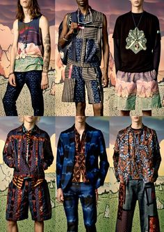 Paris Menswear Print Highlights – Spring/Summer 2015 catwalks
