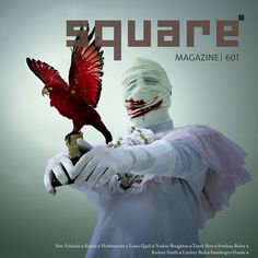 happy we've been featured on the cover of the latest @squaremag issue  check out the interview and get your copy via squaremag.org special thanks to editor Christophe Dillinger for the invite  #mothmeister #taxidermy #wounderland #mask #squaremag