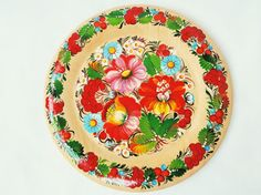 Decorative wall plate Flowers Wall hangings  VISIT SITE!