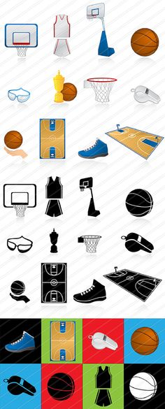 Basketball  clipart Clipart SPORTS Instant Download Sport by 41Bus