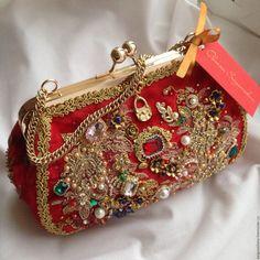 """Сумка""""Red Carnival""""в стиле DG – купить в интернет-магазине на Ярмарке Мастеров с доставкой"""