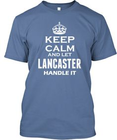 Are you a Lancaster? Then the shirt is for you