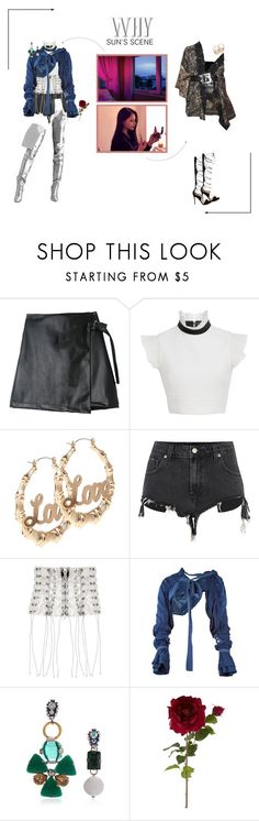 """""""ARIA (아리아) 'Why' Sun's Scene"""" by ariaofficial ❤ liked on Polyvore featuring David Koma, Unravel, Tao Comme Des Garçons, Marni, Sia, Gianvito Rossi and whyera"""