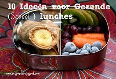 Eet goed, Voel je goed: 10 Ideeën voor Gezonde (School-) lunches SPELT VERVANGEN DOOR BOEKWEIT OF ANDER 'TOEGESTAAN' MEEL