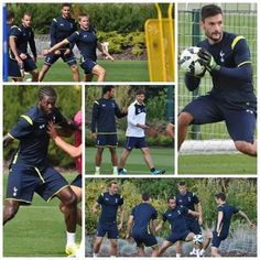 Some pics of the lads in training