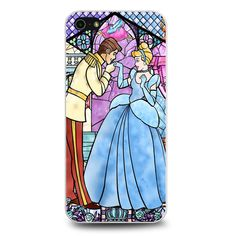 Cinderella Stained Glass iPhone 5[S] Case
