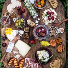 How to make a Killer Summer Cheeseboard (with Pickled Strawberries + Herb Roasted Cherry Tomatoes!).