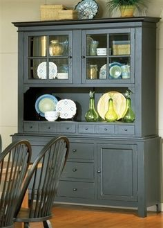 Home Style 5181 697 Arts And Crafts Buffet Hutch
